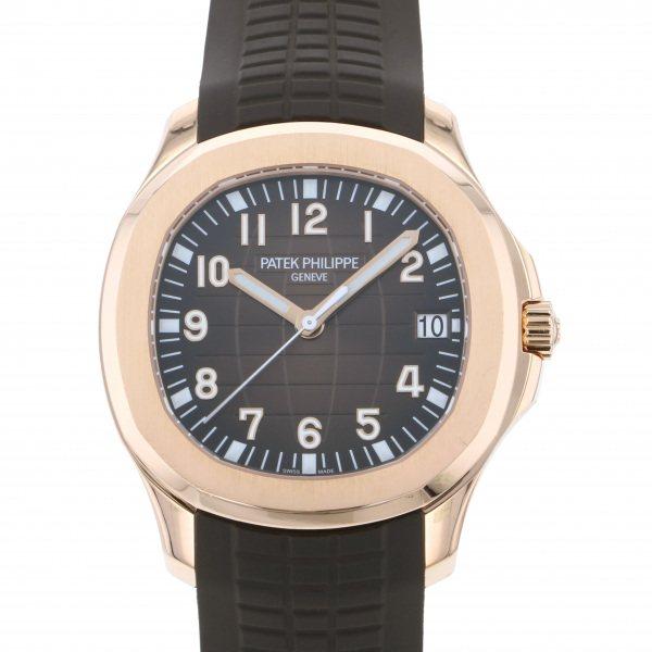 パテック・フィリップ PATEK PHILIPPE アクアノート 5167R-001 ブラウン文字盤 メンズ 腕時計 【中古】