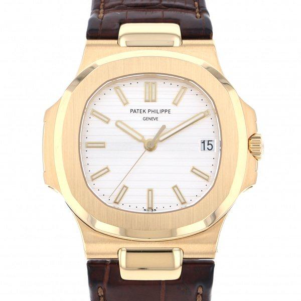 パテック・フィリップ PATEK PHILIPPE ノーチラス 5711J-001 シルバー文字盤 メンズ 腕時計 【中古】