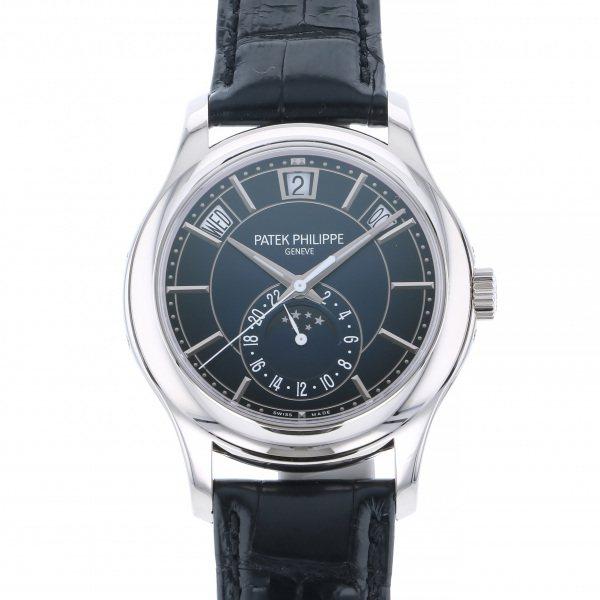 パテック・フィリップ PATEK PHILIPPE アニュアルカレンダー ムーンフェイズ 5205G-013 ブルー文字盤 メンズ 腕時計 【新品】