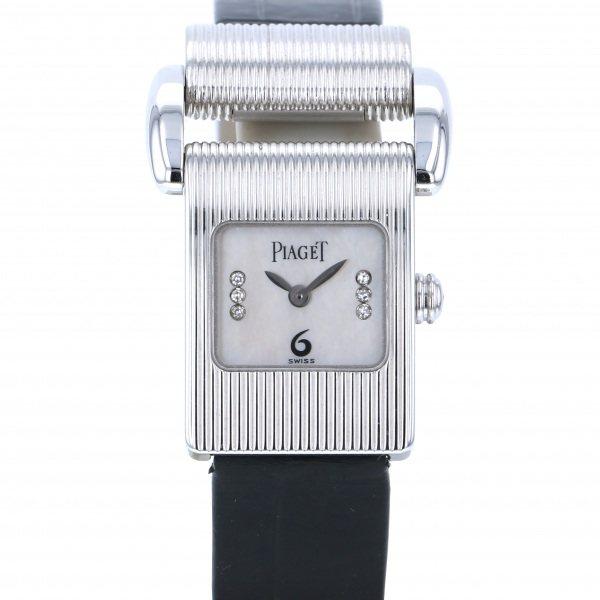 ピアジェ PIAGET その他 ミスプロトコール 52216P ホワイト文字盤 レディース 腕時計 【中古】