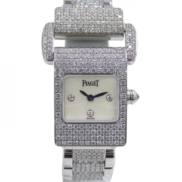 ピアジェ PIAGET その他 ミスプロトコール - ホワイト文字盤 レディース 腕時計 【中古】