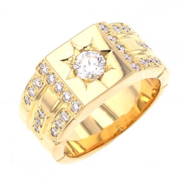レガリア リング イエローゴールド ダイヤモンド YMR03YG 新品 ジュエリー 景品 結婚内祝 記念品 売れ筋商品 喜寿祝