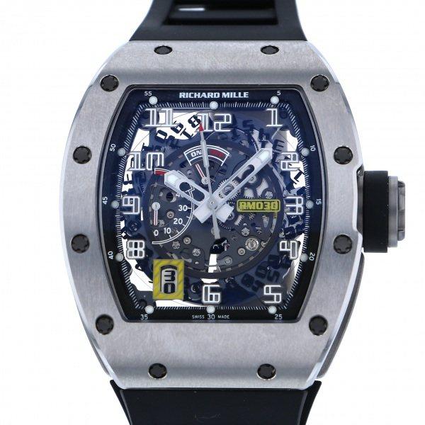 【全品 ポイント10倍 4/9~4/16】リシャール・ミル RICHARD MILLE その他 RM030 TI ブラック文字盤 メンズ 腕時計 【中古】