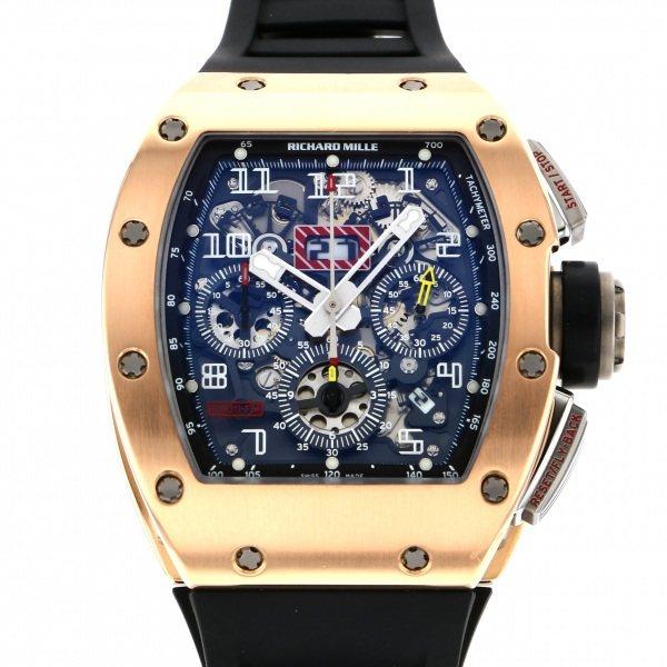 【全品 ポイント10倍 4/9~4/16】リシャール・ミル RICHARD MILLE その他 RM011AJRG シルバー文字盤 メンズ 腕時計 【中古】