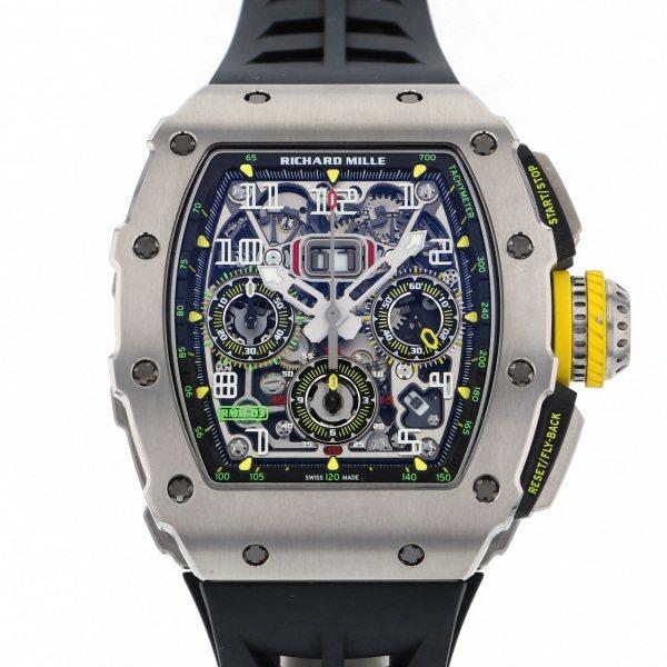 リシャール・ミル RICHARD MILLE その他 RM11-03 TI シルバー文字盤 メンズ 腕時計 【中古】