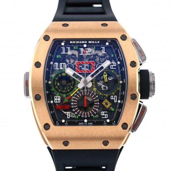 リシャール・ミル RICHARD MILLE その他 フライバック クロノグラフ デュアルタイム RM11-02RG グレー文字盤 メンズ 腕時計 【新品】