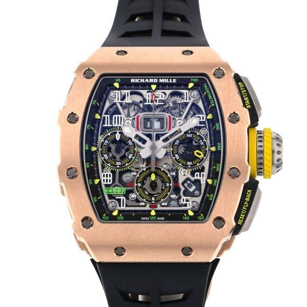 リシャール・ミル RICHARD MILLE その他 フライバック クロノグラフ RM11-03 RG グレー文字盤 メンズ 腕時計 【新品】