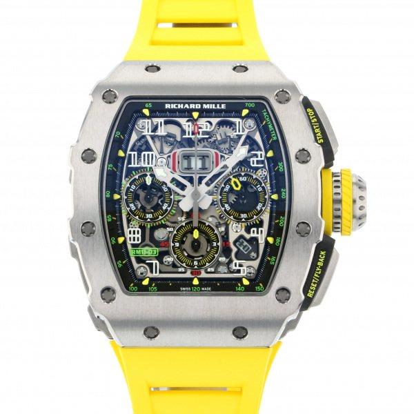 リシャール・ミル RICHARD MILLE その他 RM11-03TI シルバー文字盤 メンズ 腕時計 【新品】