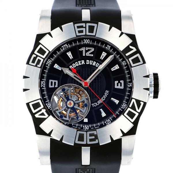 ロジェ・デュブイ ROGER DUBUIS トゥールビダイバー 世界限定88本 RDDBSE0181 ブラック文字盤 メンズ 腕時計 【新品】
