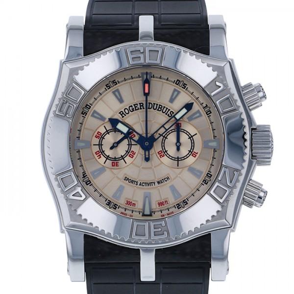 ロジェ・デュブイ ROGER DUBUIS イージーダイバー クロノグラフ SE46 シャンパン文字盤 メンズ 腕時計 【新品】