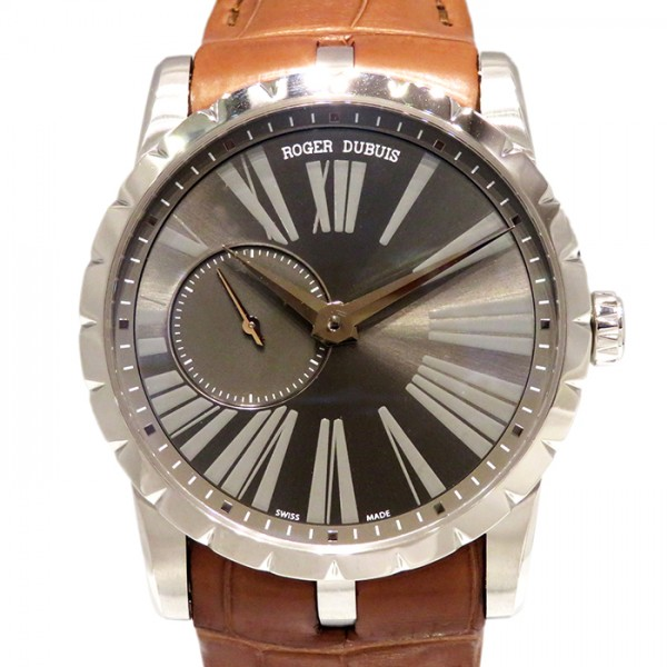 ロジェ・デュブイ ROGER DUBUIS エクスカリバー 42 マイクロローター オートマティック RDDBEX0353 グレー文字盤 メンズ 腕時計 【新品】