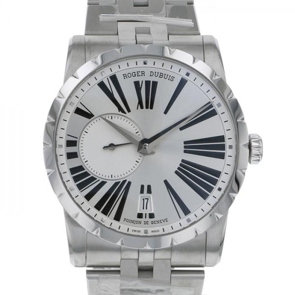 ロジェ・デュブイ ROGER DUBUIS エクスカリバー RDDBEX0448 シルバー文字盤 メンズ 腕時計 【新品】