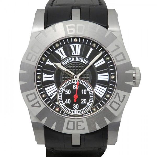 ロジェ・デュブイ ROGER DUBUIS イージーダイバー SED40 ブラック文字盤 メンズ 腕時計 【中古】