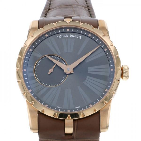 ロジェ・デュブイ ROGER DUBUIS エクスカリバー 42 マイクロローター RDDBEX0352 チャコールグレー文字盤 メンズ 腕時計 【新品】