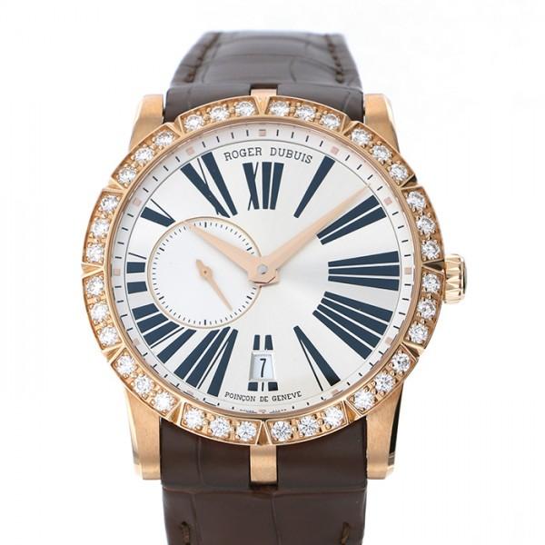 ロジェ・デュブイ ROGER DUBUIS エクスカリバー 42 オートマティック RDDBEX0483 ホワイト文字盤 メンズ 腕時計 【新品】