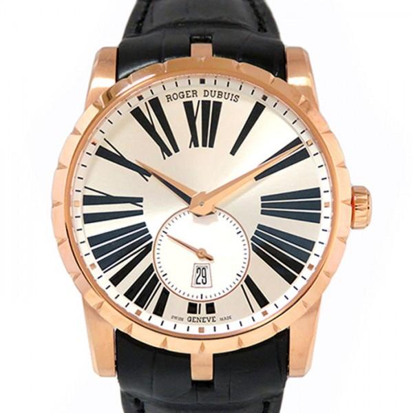 【期間限定ポイント5倍 5/5~5/31】 ロジェ・デュブイ ROGER DUBUIS エクスカリバー 42 オートマティック RDDBEX0538 シルバー文字盤 メンズ 腕時計 【新品】