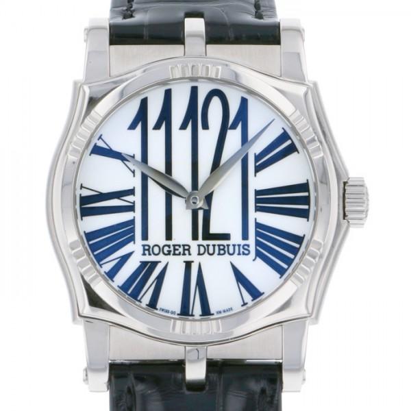ロジェ・デュブイ ROGER DUBUIS その他 シンパシー SY401401C.67A/27 ホワイト文字盤 メンズ 腕時計 【中古】