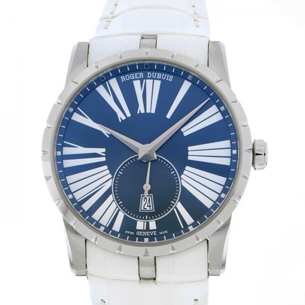 【超目玉枠】 ロジェ・デュブイ ROGER DUBUIS エクスカリバー オートマティック42 RDDBEX0535 ブルー文字盤  腕時計 メンズ, ホスピマート 29d2334f