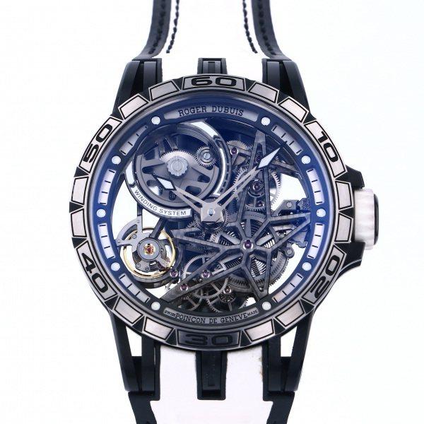 ロジェ・デュブイ ROGER DUBUIS エクスカリバー スパイダー 45 オートマティック RDDBEX0715 シルバー文字盤 メンズ 腕時計 【中古】