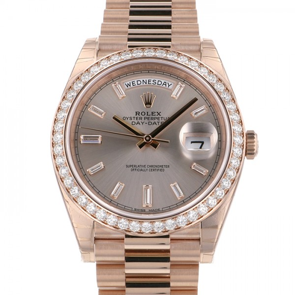 ロレックス ROLEX デイデイト40 228345RBR サンダスト文字盤 メンズ 腕時計 【新品】