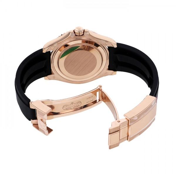 ロレックス ROLEX ヨットマスター37 268655 ブラック文字盤 メンズ 腕時計 【新品】