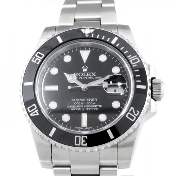 【予約中!】 ロレックス ROLEX サブマリーナ デイト 116610LN ブラック文字盤  腕時計 メンズ, エヒラ家具e-flat e4216270