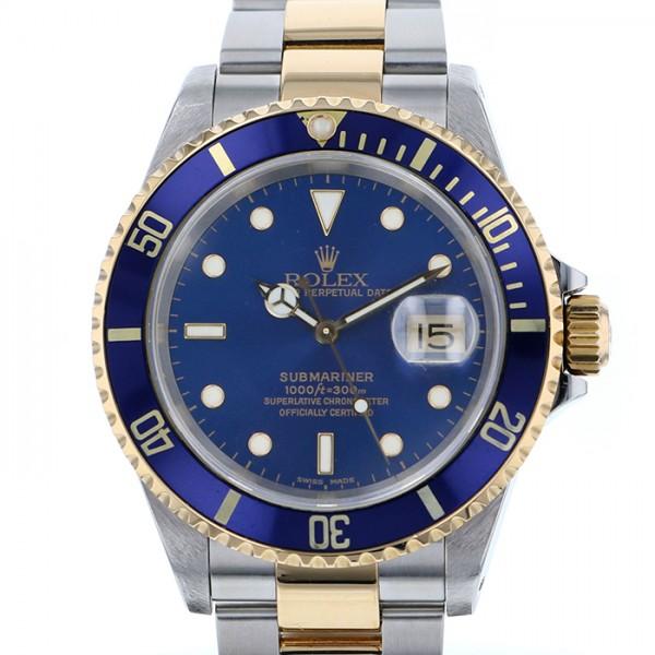 【激安大特価!】 ロレックス ROLEX サブマリーナ 【生産終了モデル】 16613 ブルー文字盤  腕時計 メンズ, 紀州和歌山てんこもり 6c722683