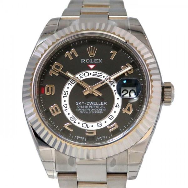 全商品オープニング価格! ロレックス ROLEX ROLEX 326939 スカイドゥエラー 326939 ブラック文字盤 新品 新品 腕時計 メンズ, ビラトリチョウ:d152ee02 --- risesuper30.in