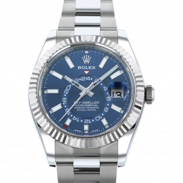 気質アップ ロレックス ROLEX スカイドゥエラー 326934 ブルー文字盤 新品 腕時計 メンズ, BLI 77d5f70e
