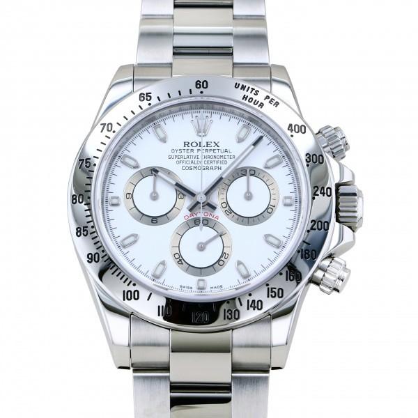 注文割引 ロレックス 116520 ROLEX デイトナ デイトナ 116520 メンズ ホワイト文字盤 腕時計 メンズ, アルファゴー:74d1f17e --- mail.viradecergypontoise.fr