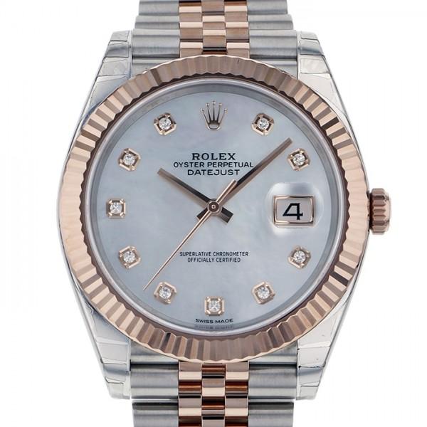 ロレックス ROLEX デイトジャスト 41 126331NG ホワイト文字盤 メンズ 腕時計 【新品】