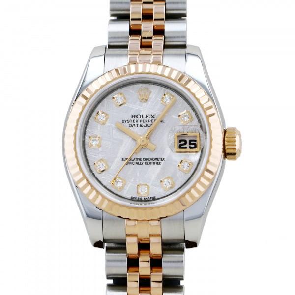 2021年最新海外 ロレックス ROLEX デイトジャスト 179171G 179171G 腕時計 シルバー文字盤 レディース 腕時計 レディース, 当社の:92485b6b --- mail.viradecergypontoise.fr