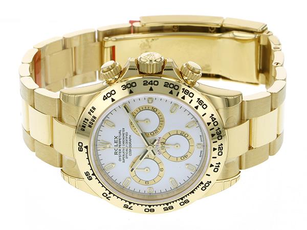 ロレックス ROLEX デイトナ 116508 ホワイト文字盤 メンズ 腕時計 【新品】