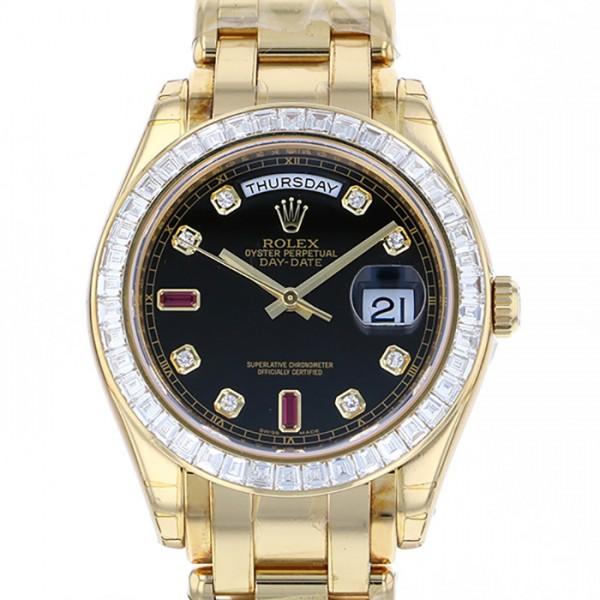 ロレックス ROLEX デイデイト 18958BR ブラック文字盤 メンズ 腕時計 【新品】