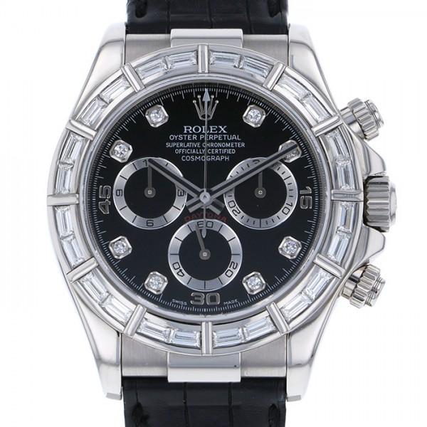 ロレックス ROLEX デイトナ 116589BRG ブラック文字盤 メンズ 腕時計 【中古】