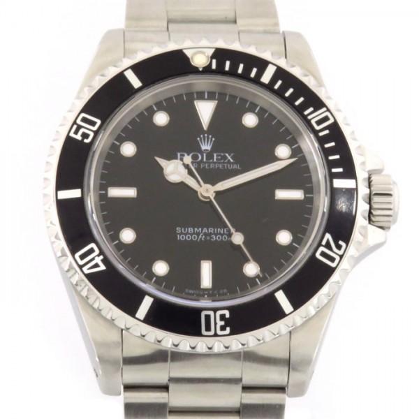 ロレックス ROLEX サブマリーナ ノンデイト 14060 ブラック文字盤 メンズ 腕時計 【中古】