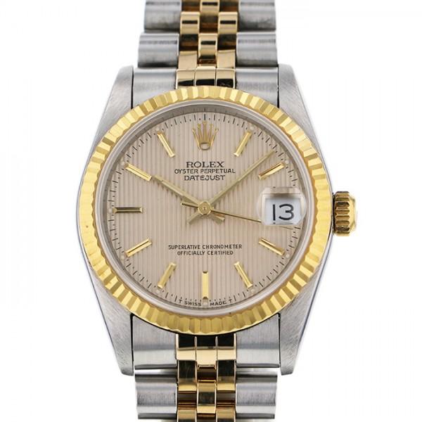 【期間限定ポイント5倍 5/5~5/31】 ロレックス ROLEX デイトジャスト 69173 シャンパン文字盤 レディース 腕時計 【中古】