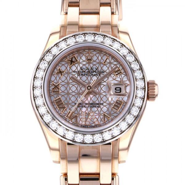ロレックス ROLEX デイトジャスト 80285 ホワイト文字盤 レディース 腕時計 【中古】