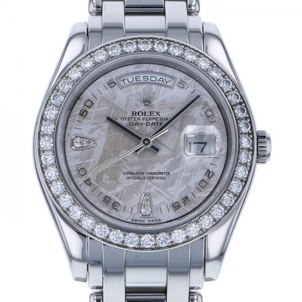 ロレックス ROLEX デイデイト 18946 2BR メテオライト文字盤 メンズ 腕時計 【中古】