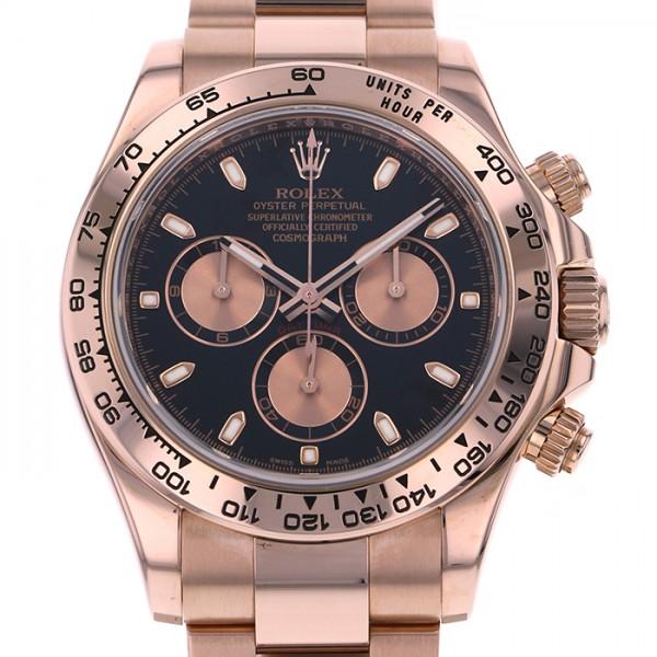 ロレックス ROLEX デイトナ 116505 ブラック文字盤 メンズ 腕時計 【中古】