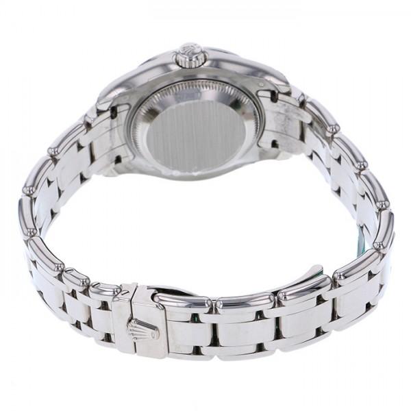 ロレックス ROLEX デイトジャスト パールマスター ベゼルバケットサファイア 80309SACI ホワイト文字盤 レディース 腕時計 【新品】
