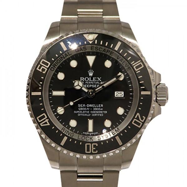 大特価 ロレックス ROLEX シードゥエラー ディープシー 116660 ブラック文字盤  腕時計 メンズ, 大多喜町 6cb2a6ab