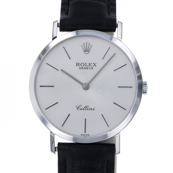 超爆安  ロレックス ROLEX チェリーニ 4112/9 シルバー文字盤  腕時計 メンズ, 川里町 ddeeeff9