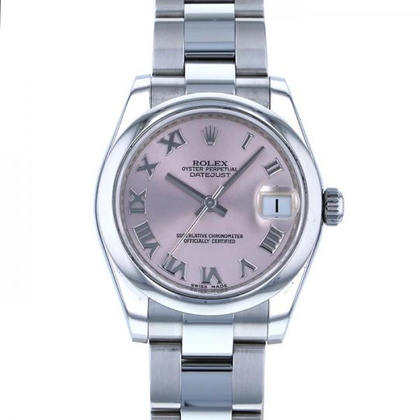 ロレックス ROLEX デイトジャスト 178240 ピンクローマ文字盤 レディース 腕時計 【中古】