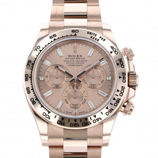 ロレックス ROLEX デイトナ 116505A ピンク文字盤 メンズ 腕時計 【新品】