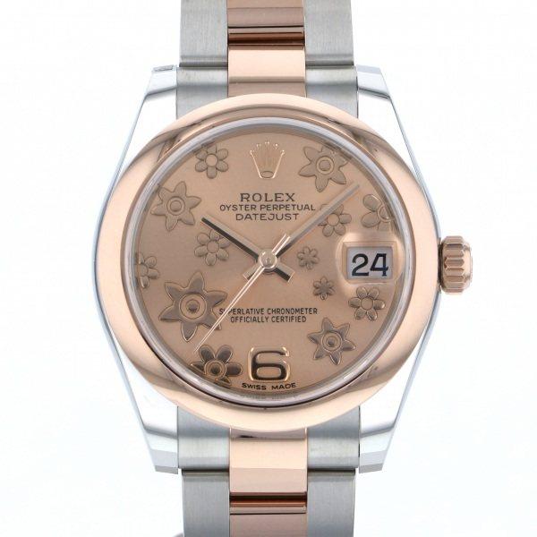 ロレックス ROLEX デイトジャスト 178241 ピンクフラワー文字盤 レディース 腕時計 【新品】