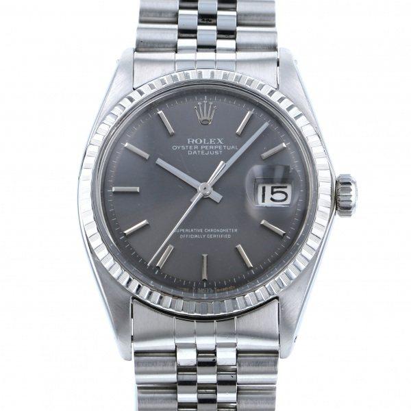 【全品 ポイント10倍 4/9~4/16】ロレックス ROLEX デイトジャスト 1603 グレー文字盤 メンズ 腕時計 【中古】