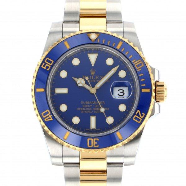 人気ショップ ロレックス ROLEX サブマリーナ デイト 116613LB ロレックス 腕時計 116613LB ブルー文字盤 腕時計 メンズ, シンジュクク:449e5e65 --- spanienfan.de