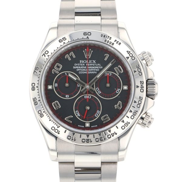 【全品 ポイント10倍 4/9~4/16】ロレックス ROLEX デイトナ 116509 ブラックアラビア文字盤 メンズ 腕時計 【中古】