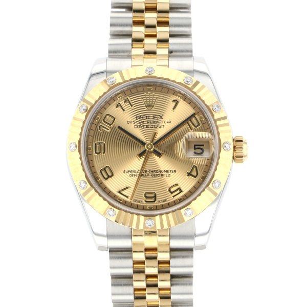 【正規品】 ロレックス ROLEX デイトジャスト 178313 シャンパンアラビア文字盤  腕時計 レディース, チロルwebshop c7332390